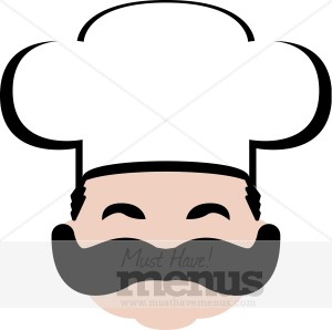 Smiling Chef Clipart