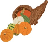 Thanksgiving Cornucopia Clipart