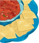 Chips and Salsa Clip Art