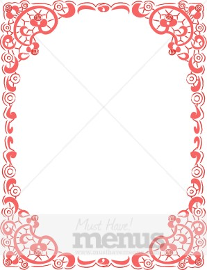 Red Rustic Lace