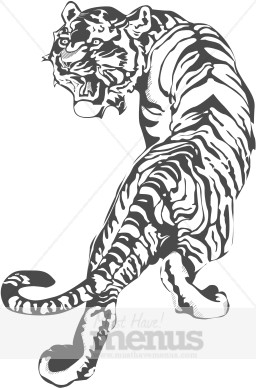 Tiger Clipart Chinese Restaurant Clipart