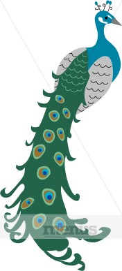 Peacock Clip Art Holiday Clipart Archive