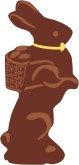 Chocolate Bunny Clipart