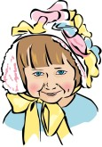Easter Bonnet Clipart