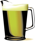 Beer Pitcher Clipart