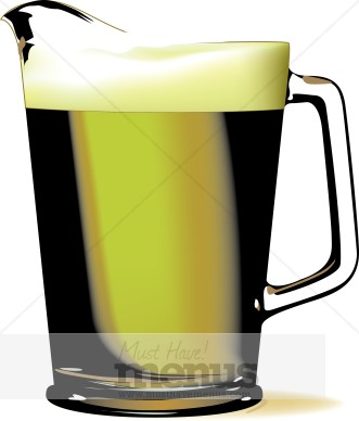 Beer Pitcher Clipart Holiday Clipart Archive