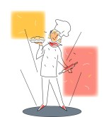 Pastry Chef Clipart