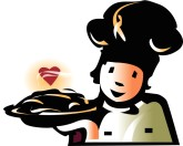 Sweet Pastry Chef Clipart