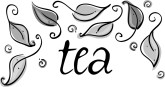 Tea Leaves Clipart
