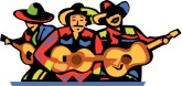 Mexican Singers Clipart