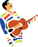 Mexican Singer Clipart