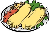 Tamale Clipart