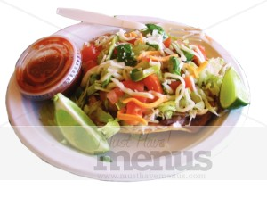 Tostada Photo Mexican Food Clipart