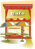 Outdoor Cafe Clipart