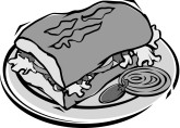 Mexican Sandwich Clipart