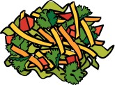 Mexican Salad Clipart