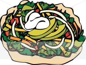 Taco Salad Clipart Taco Clipart