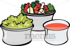 Taco Sides Clipart Mexican Food Clipart