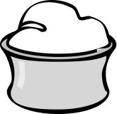 Sour Cream Clipart