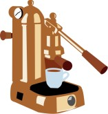 Espresso Machine Clipart