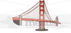 Clip Art Golden Gate Bridge Clipart golden gate bridge clipart international food images clipart