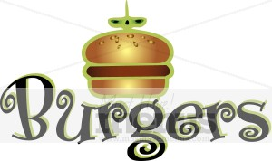 Burgers Icon Fast Food Icons