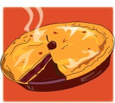 Cherry Pie Clipart