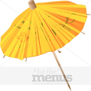 Cocktail Umbrella Clipart