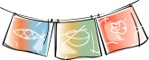 Japanese Curtains Clipart