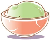 Green Tea Gelato Clipart
