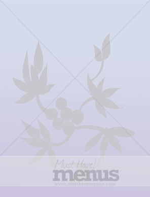 Chinese Leaves Background