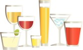 Bar Drinks Clipart