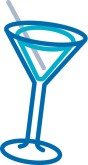 Party Martini Clip Art