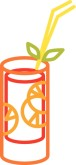 Tequila Sunrise Clipart