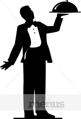 Formal Food Service Clipart Catering Clipart