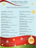 Holiday Dinner Catering Menu