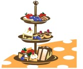 Sweets Tray Clipart