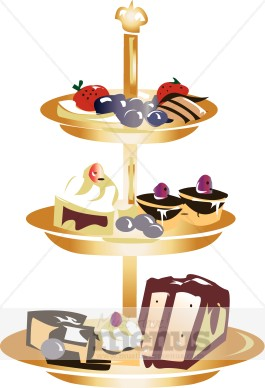 Dessert Tray Clipart Images