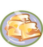 French Toast Clipart