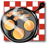 Breakfast Food Clipart