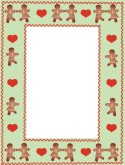Gingerbread Border