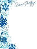 Seasons Greetings Border