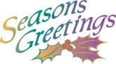 Seasons Greetings Tag Clipart