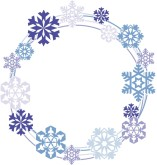 Snow Wreath Clipart