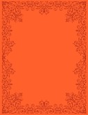 Lacy Orange Background