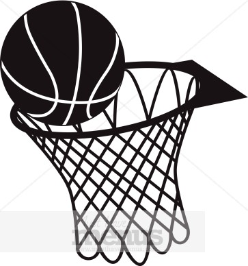 Basketball Hoop Clip Art | Sports Clipart