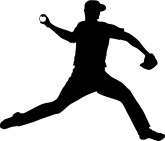 Baseball Player Clipart