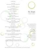 Fine Dining Restaurant Menu