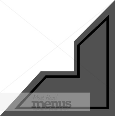 Photo Corner Informal Menu Accents