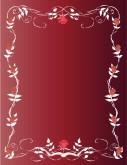 Customize 8 Valentine Day Menu Background Menu Backgrounds
